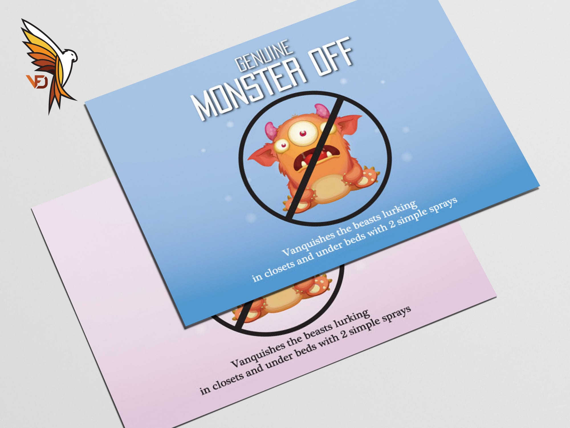 Monster Off Sticker
