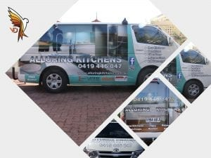 Alluring Kitchens - Car Wrap