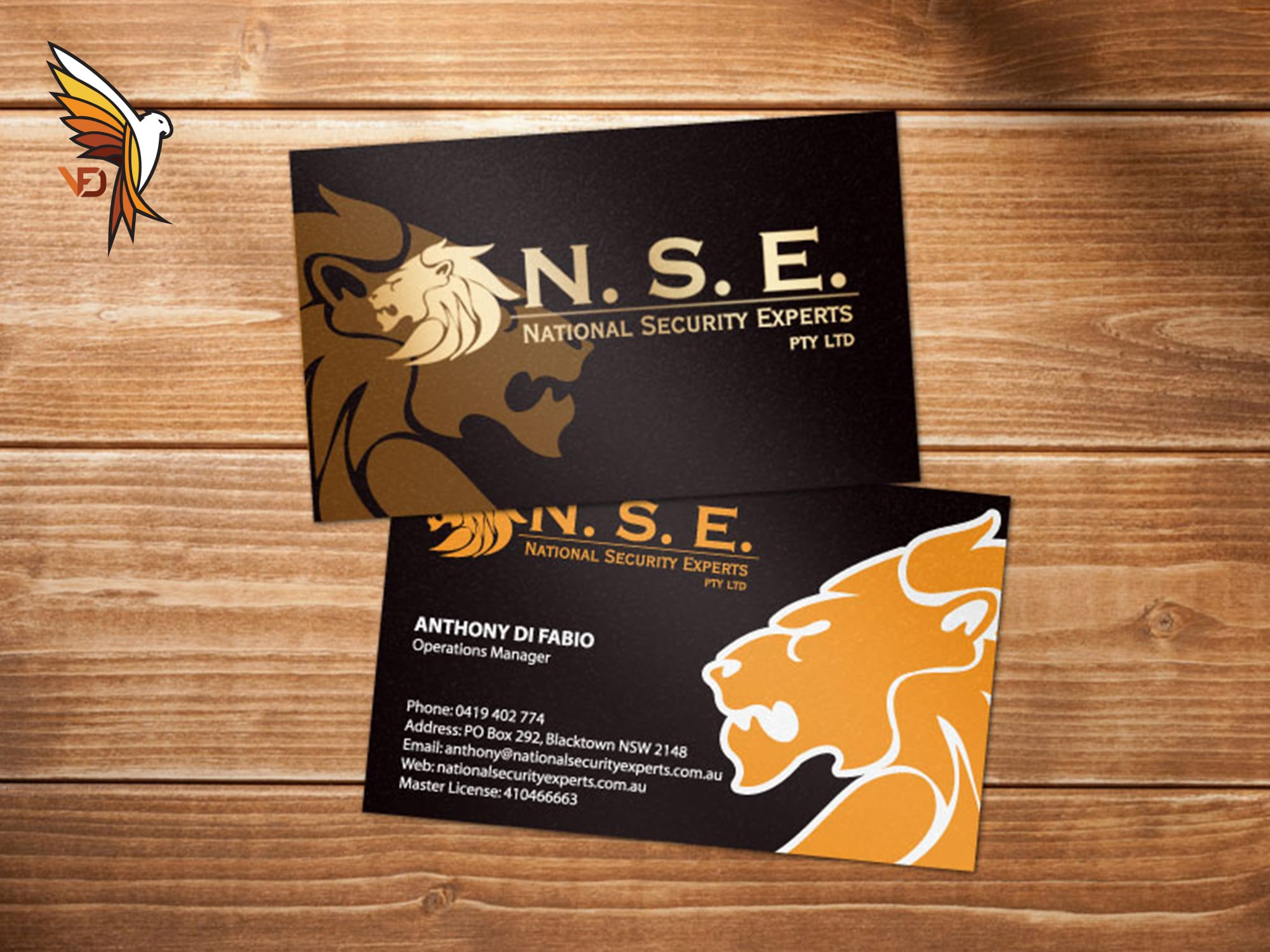 NSE Business Cards