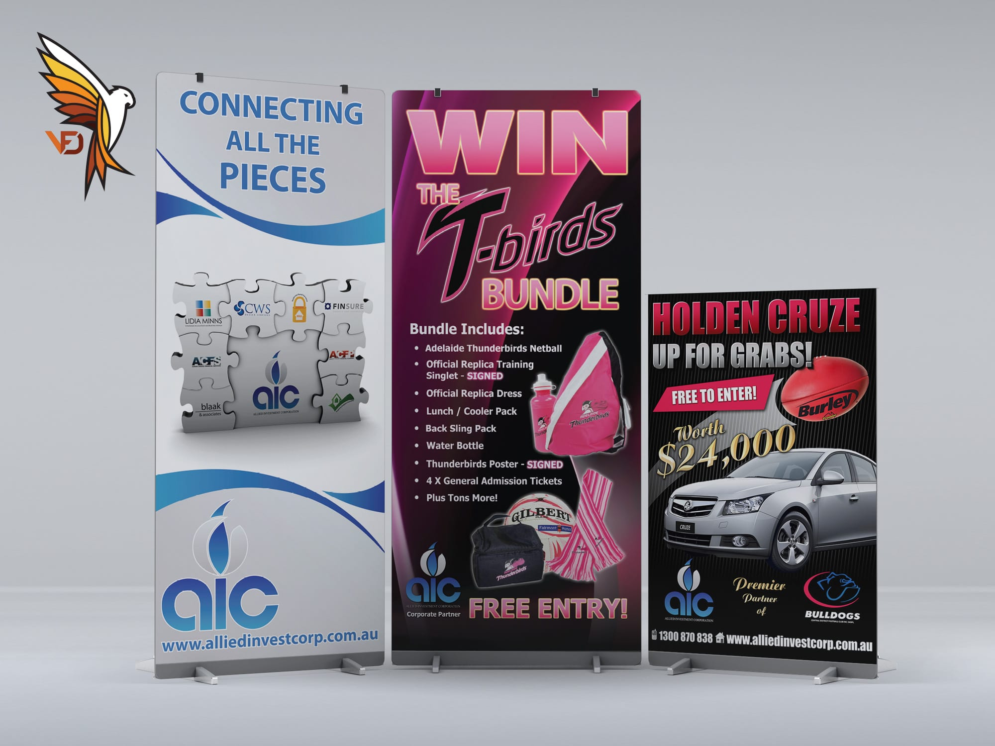 AIC - Pull Up Banners
